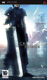 Final Fantasy VII Crisis Core Box Art - Europe