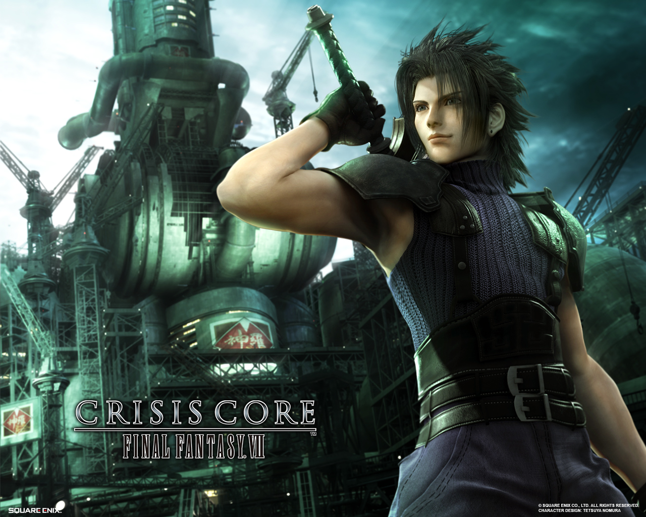 Final fantasy vii crisis core ff7cc wallpapers crisis core characters wallpaper zack wallpaper altavistaventures Image collections