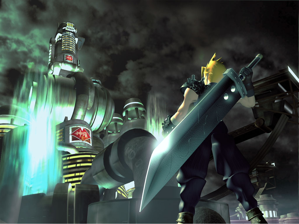 pics photos final fantasy 7 cloud wallpaper
