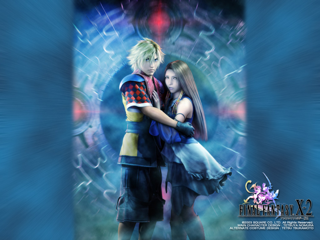 final fantasy x-2 / ffx-2 / ff10-2 - wallpapers