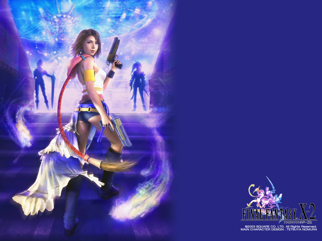 final fantasy x 2 ffx 2 ff10 2 wallpapers. Black Bedroom Furniture Sets. Home Design Ideas