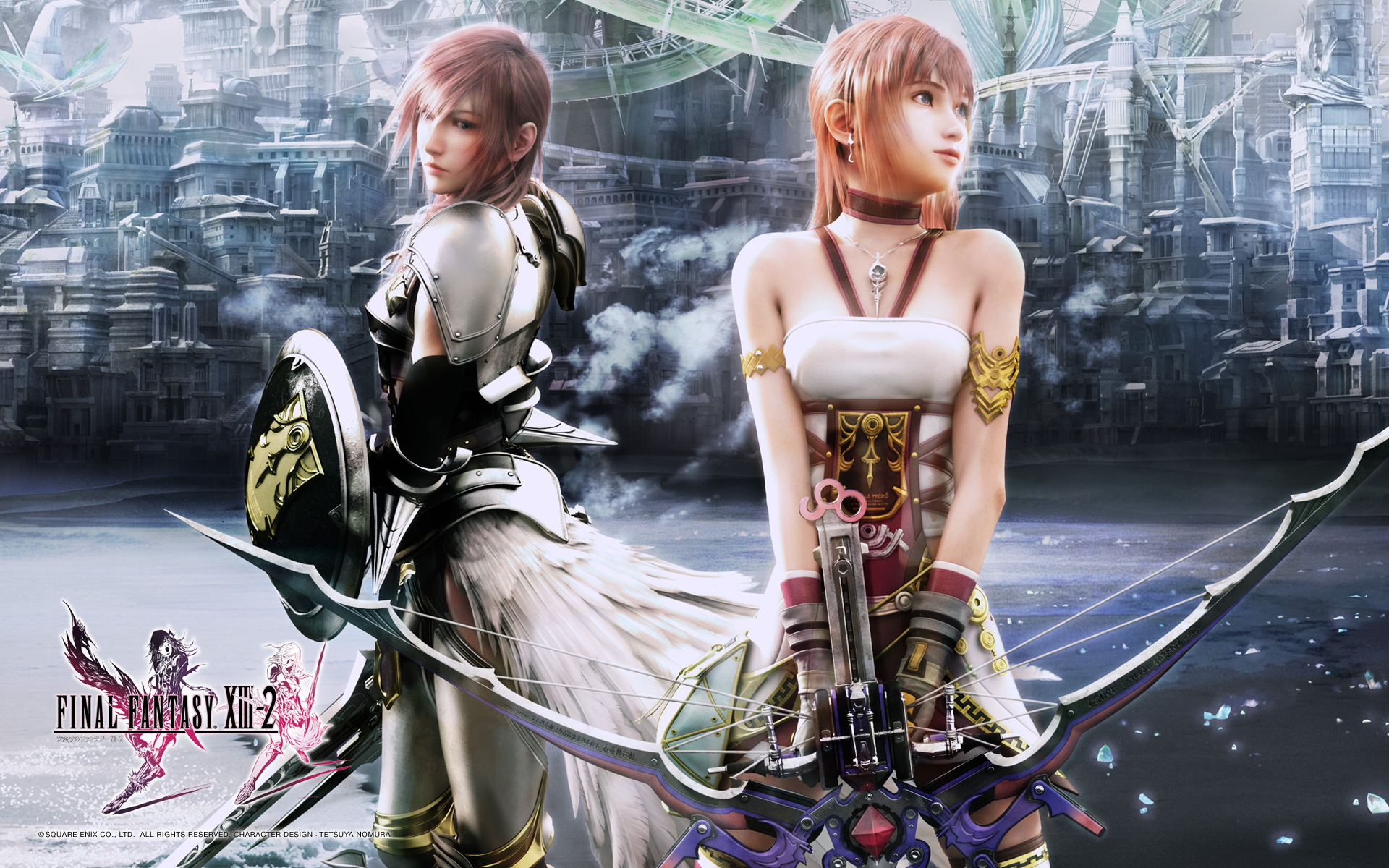 Final Fantasy XIII-2 - WallpapersFinal Fantasy Serah And Lightning
