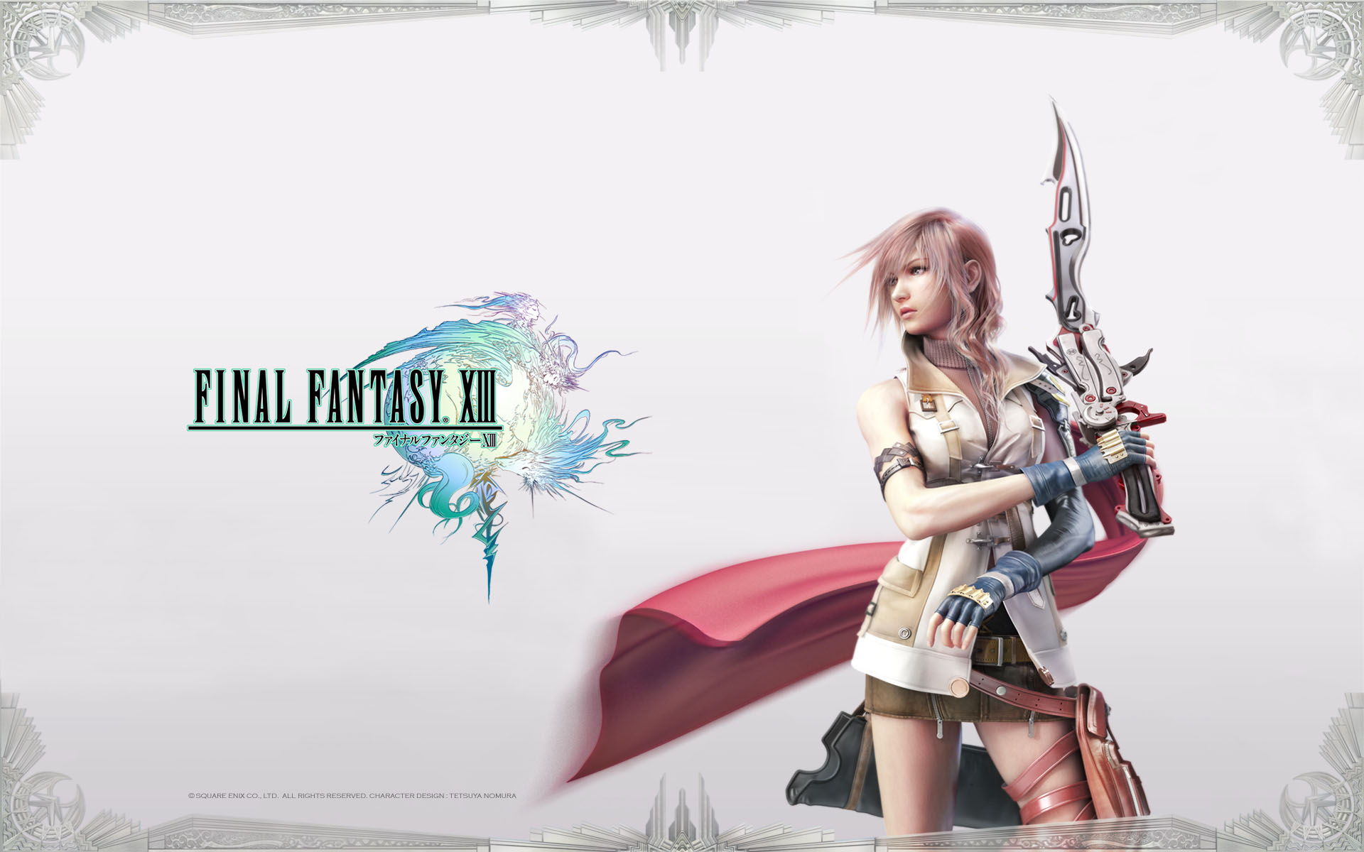 final fantasy xiii / ffxiii / ff13 - wallpapers