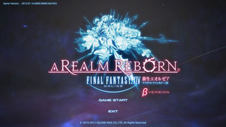 Final Fantasy XIV: A Realm Reborn Beta Version